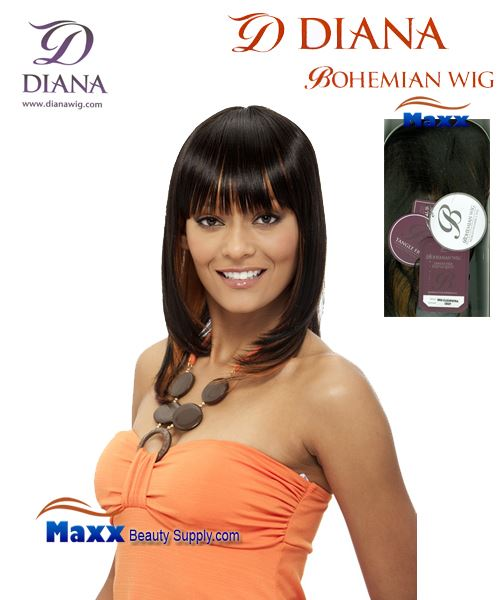 Diana Bohemian Synthetic Hair Full Wig - Cleopatra